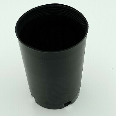 AU15 • Buy Plastic Plant Pots Black 75mm (3 ) , Perfect For Orchids, Seedlings, Seedling