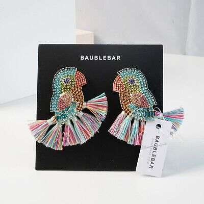 $ CDN61.67 • Buy Anthropologie BaubleBar Parrot Drop Earrings Authentic BaubleBar - NWT