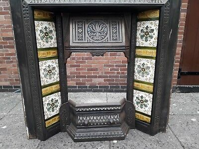 Victorian Style Cast Iron Fireplace • 195£