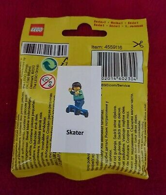 LEGO Minifigure SERIES 1  SKATE BOARDER  8683 Rare 2010 New Sealed Collectable • 22£