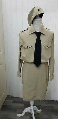 1940s Style GI Outfit 4 Piece Ex Hire Size Medium • 19.99£