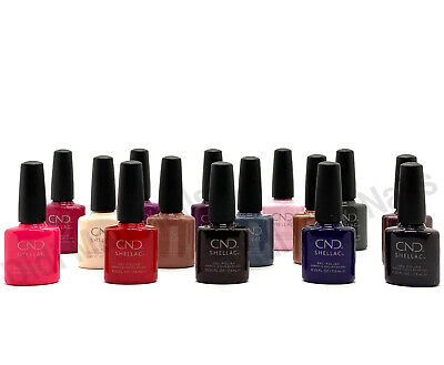 AU16.70 • Buy CND Shellac UV Gel Polish .25 Oz -15 Exclusive Shades Open Stock NEW!