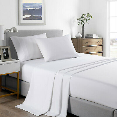 AU52.95 • Buy Royal Comfort 2000 Thread Count Bamboo Cooling Sheet Set Ultra Soft Bedding