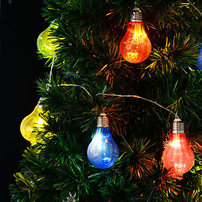 String Lights Ball Globe Fairy Lamp LED Bulbs Wedding Christmas Tree Decoration • 4.95£