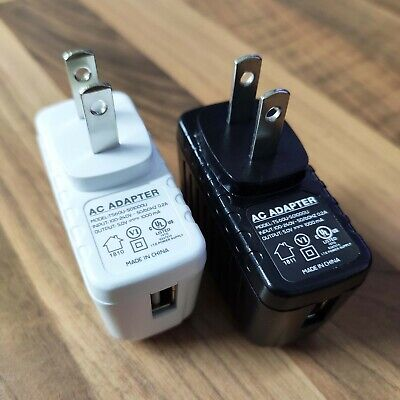 £1.79 • Buy USA USB Phone Charger Travel Plug Adapter **Super Offer** White & Black Colours