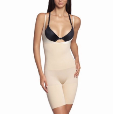 $11.03 • Buy SIZES / COLORS CLEARANCE!! Maidenform Firm Long Leg Open Bust Body Shaper 12615