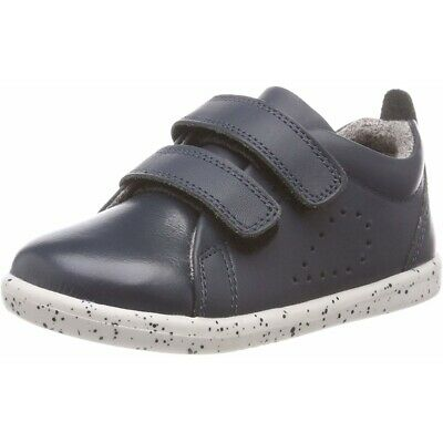 Bobux I-Walk Grass Court Navy Leather Infant First Walkers Shoes • 42.84£
