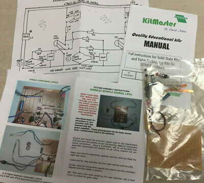 £15 • Buy Model Railway Electronic Kit For A KMR 623 Simple Signal With LED 9 - 12 Volt