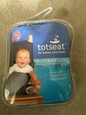 Totseat Washable Highchair • 10£