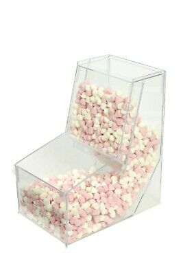 Pick & Mix Gravity Feed Dispenser Sweets Candy Food Condiments Display OW9705 • 60£