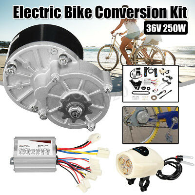 $119.98 • Buy 36V 250W Electric Bike Conversion Motor Controller Kit For 22-28  Common