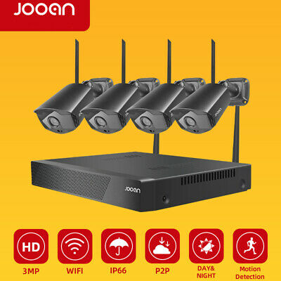AU189.99 • Buy HD 1080P Wireless CCTV Security Camera System WiFi 8CH NVR Outdoor Night Vision
