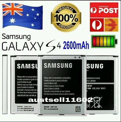 AU16.99 • Buy Replacement GENUINE OEM 2600mAh Battery For Samsung Galaxy S4 I9500 I9505 B600BC