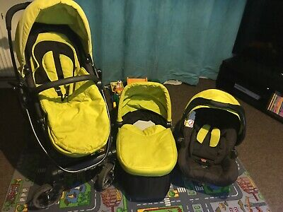 Graco Evo Lime Travel System • 30£