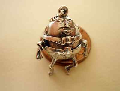 Sterling Silver HUMPTY DUMPTY Which Opens To A SOLDIER   Charm Charms  Easter • 12.99£