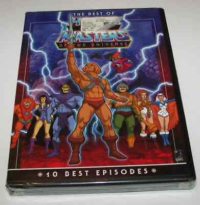 $11.90 • Buy He-Man & The Masters Of The Universe: 10 Best Episodes 2-DVD Set NEW Best Of