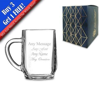 Personalised Engraved Haworth Half Pint Tankard, Gift Boxed, Perfect For Beer • 8.95£
