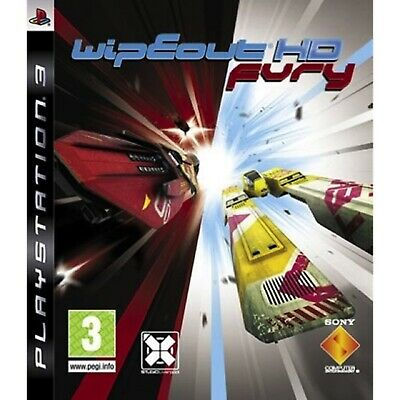 £54.99 • Buy Wipeout HD Fury PS3 PlayStation 3 Video Game Mint Condition UK Release