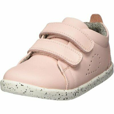 Bobux I-Walk Grass Court Seashell Leather Infant First Walkers Shoes • 42.84£