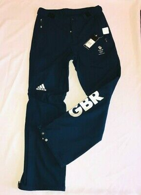 £62 • Buy Adidas Team GB Ski Pants Trousers Mens Womens Winter Olympic Official Latest Kit