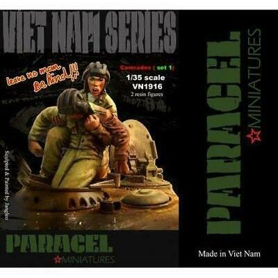 1/35 Scale Resin Model Kit COMRADES 1 - Vietnam War Figure Set • 17.99£