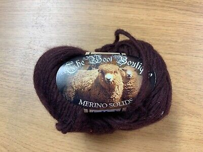 CLEARANCE SALE* 100% MERINO WOOL (also For Felting)  70m X 50g  Brown • 2£