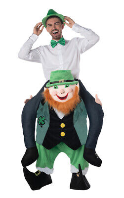 $49.99 • Buy St. Patrick's Day Leprechaun Costume Carrier Funny Adult Mens One Size Fits Most