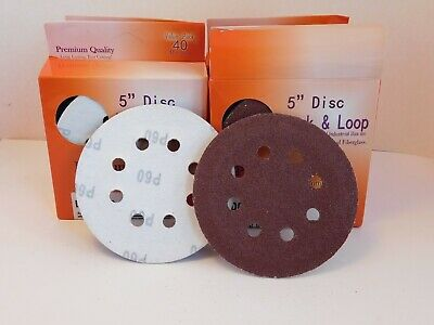 $ CDN33.50 • Buy 120 Astron 5 Inch Sanding Disc 8 Hole, Four Grit Sizes 40 Per Box, 4 Boxes.