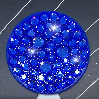 AU49.03 • Buy Bling Authentic Blue PopSocket W/ Blue Swarovski Crystals PopSockets IPhone LG