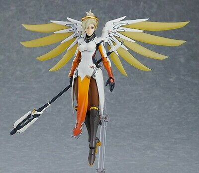 AU87.50 • Buy Overwatch Mercy Figma #427 Action Figure Good Smile Company New In Box