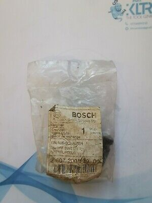 Bosch Spare Part 2 607 200 109 000 On/Off Switch 125v • 9.99£
