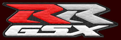 $12 • Buy SUZUKI GSX-RR EMBROIDERED PATCH ~4-3/4  X 1-3/8  MOTORCYCLES RACING MOTO-GP #1
