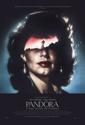PANDORA & THE FLYING DUTCHMAN (Ava Gardner) Film Poster 4 - Glossy A4 Print  • 7.99£