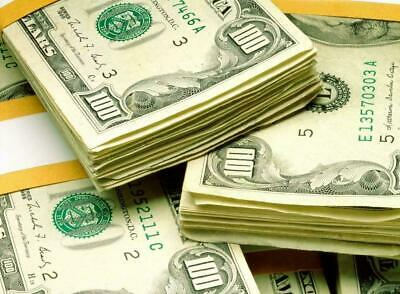 $10.99 • Buy CASH MONEY STACKS GLOSSY POSTER PICTURE PHOTO BANNER PRINT 100 Bills Old 5893
