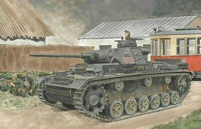 Dragon 1/35 Scale WW2 German PZKPFW III ASUF J INITIAL PRODUCTION/EARLY  • 62.99£