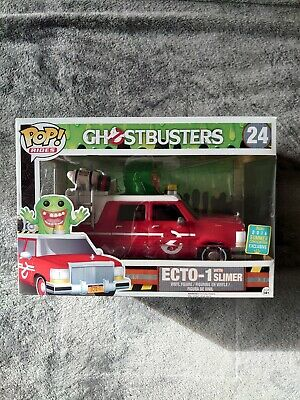 Ecto 1 With Slimer Funko Sdcc • 30£
