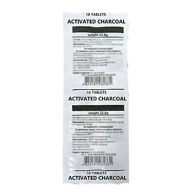 £5.50 • Buy ACTIVATED CHARCOAL 250mg ***BUNDLE 10-30-50-100tablets***