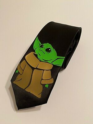 $17.99 • Buy Baby Yoda Necktie, Star Wars, Great Quality , New, Fun Gift