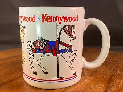 $9.99 • Buy Kennywood Carousel Coffee Mug - Pittsburgh PA