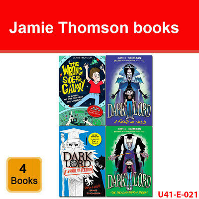 Jamie Thomson 4 Books Collection Set Dark Lord Series, Wrong Side Of The Galaxy  • 12.49£