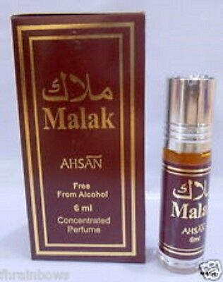 2 Malak  6ml Perfume Oil/ Attar Special Edition Non Alcohol Roll On By Ahsan • 4.99£