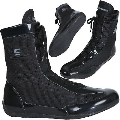 $ CDN25.63 • Buy SAWANS® Boxing Shoes Wrestling Boots Rubber Sole Mesh Anklet Light Weigh Gym MMA