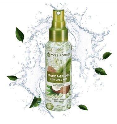 AU30.97 • Buy YVES ROCHER COCONUT Perfumed Body And Hair Mist Wife Mother Colleague Gift 57401