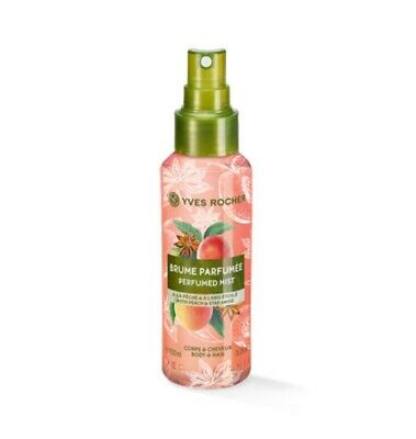 AU30.97 • Buy YVES ROCHER Peach Star Anise Perfumed Body And Hair Mist Wife Mother Gift 59854