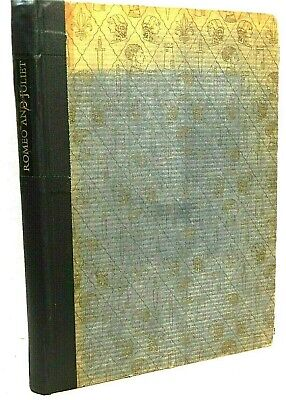 $16.95 • Buy William Shakespeare: Romeo And Juliet. 1937 Heritage Club Illustrated Edition.
