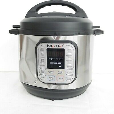 $40 • Buy Instant Pot Duo 8qt Pressure Cooker IP-DUO80 (Shipping Dent On Body)