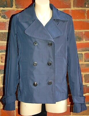 AU50 • Buy MASSIMO DUTTI Navy Blue Jacket - Size M - EUC