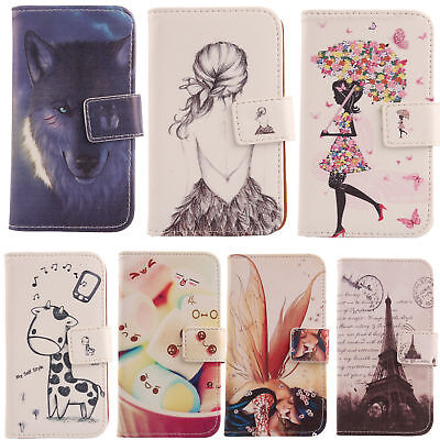 $10.98 • Buy For Smartphone - Phone PU Leather Case Flip Folio Cover Wallet Protection Bumper
