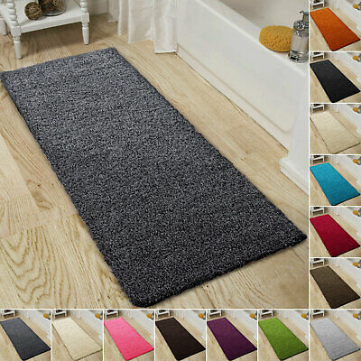 Shaggy Bath Mat Soft Non Slip Large Bathroom Rugs Super Absorbent Mats 60x110cm • 16.99£