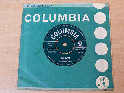 Chubby Checker/The Twist/1960 Columbia 7  Single • 3.99£